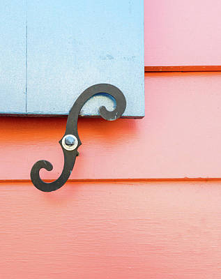 Photograph - Curves And Lines With A Shutter Hook by Douglas Barnett