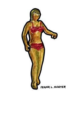 Painting - Curves, Curves, Curves by Frank Hunter
