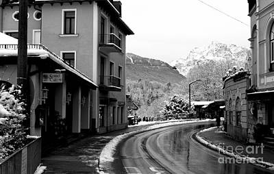 Photograph - Curves In Berchtesgaden by John Rizzuto