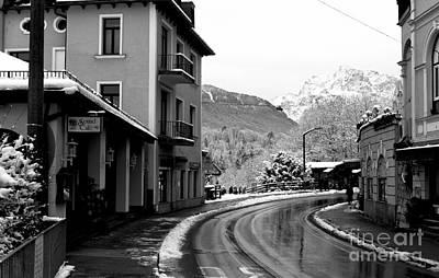 Photograph - Curves In Berchtesgaden by John Rizzuto