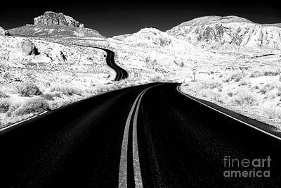 Photograph - Curves In The Valley Of Fire by John Rizzuto