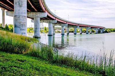 Fore River Photograph - Curves by Laurie Breton