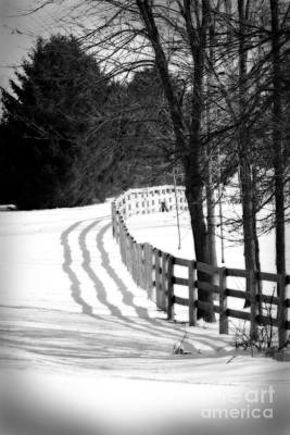Photograph - Curving Around The Corner by Cathy Beharriell