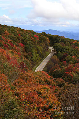 Photograph - Curvy Road In The Fall by Jill Lang