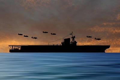Warship Photograph - Cus Washington 1938 V3 by Smart Aviation