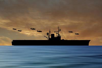 Warship Photograph - Cus Woodrow Wilson 1944 V2 by Smart Aviation