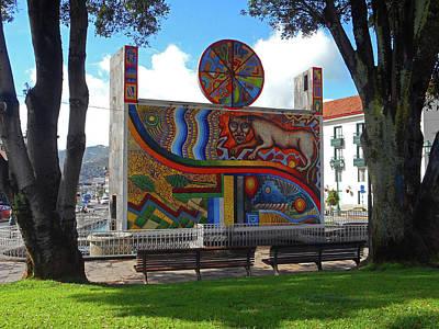 Photograph - Cusco Sculptures 2 by Ron Kandt