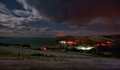 Photograph - Cushendun By Night by Colin Clarke