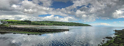 Photograph - Cushendun Bay Panorama by Teresa Wilson