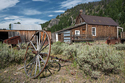 Photograph - Custer 2 by Leland D Howard