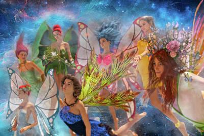 Surrealism Digital Art - Custom 0564 Girl Power by Betsy Knapp
