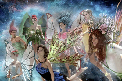 Surrealism Royalty-Free and Rights-Managed Images - Custom 0565 Power of One by Betsy Knapp