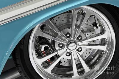 Custom Car Wheel Print by Oleksiy Maksymenko