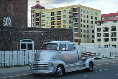 Photograph - Custom Chevy Asbury Park Nj by Terry DeLuco