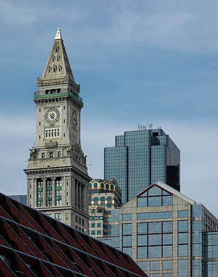 Photograph - Custom House, Boston, Ma by Betty Denise