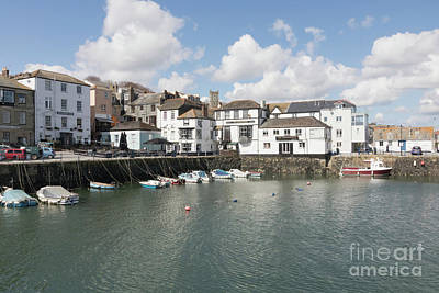 Photograph - Custom House Quay And Falmouth Parish Church by Terri Waters