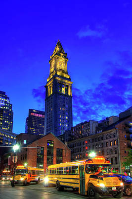 Royalty-Free and Rights-Managed Images - Custom House Tower - Boston, MA by Joann Vitali