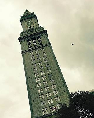 Photograph - Custom House Tower by Corinne Rhode