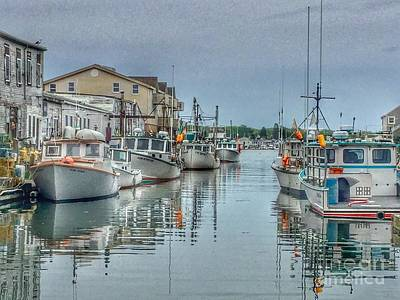 Photograph - Custom House Wharf  by Patricia E Sundik