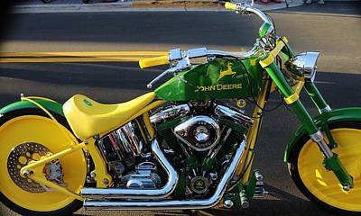 Photograph - Custom Motorcycle by Christopher James