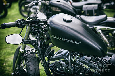 Sportster Photograph - Custom Sportster by Tim Gainey