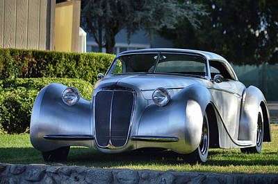 Photograph - Custom Stainless Roadster by Bill Dutting