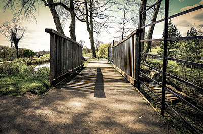 Cusworth Photograph -  Cusworth Hall Bridge by Robert Chlopas