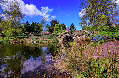 Cusworth Photograph -  Cusworth Hall Lake by Robert Chlopas