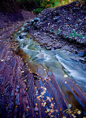 Photograph - Cut Face Creek by Rikk Flohr