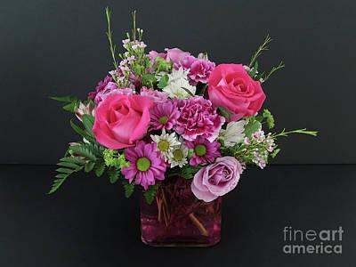 Photograph - Cut Flowers by Ann Horn