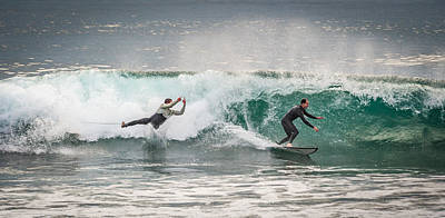 Cut Off - Surfing Photograph Art Print