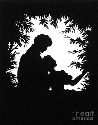 Photograph - Cut-paper Silhouette by Granger