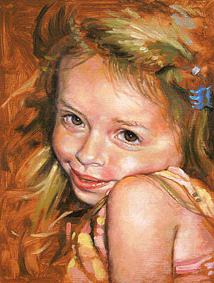 Painting - Cute As A Bug by Larry Seiler