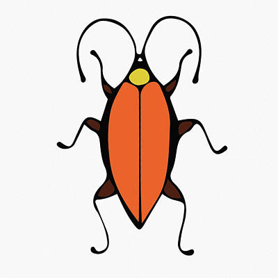 Digital Art - Cute Bug For Kids by Irina Sztukowski