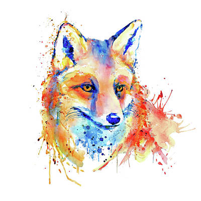 Cute Foxy Lady Art Print