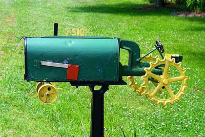 Photograph - Cute Mailbox 1 by Kathryn Meyer
