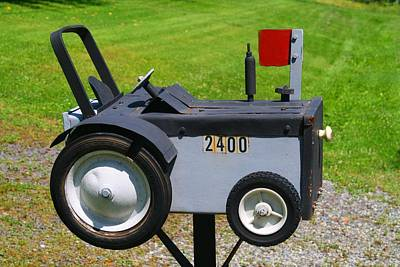 Photograph - Cute Mailbox 2 by Kathryn Meyer