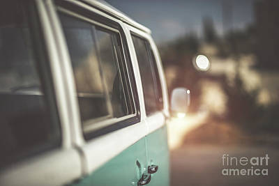 Photograph - Cute Old-fashioned Campervan by Anna Om