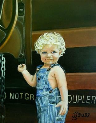 Cutie By The Train Original