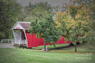 Photograph - Cutler-donahoe Covered Bridge by Lynn Sprowl