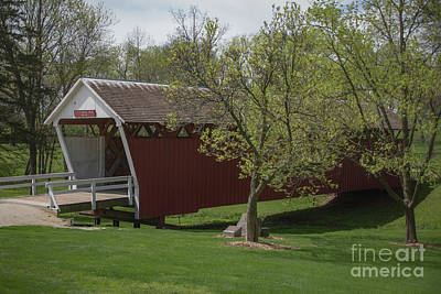 Photograph - Cutler - Donahoe Covered Bridge - Madison County - Iowa by Teresa Wilson