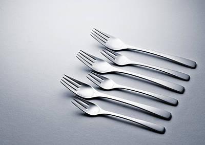 Design Photograph - Cutlery Study Viii by Fernando Martins Ribeiro