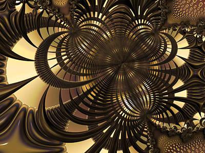Framed Art Digital Art - Cutouts by Amanda Moore