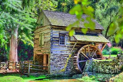 Photograph - Cuttalossa Mill by DJ Florek