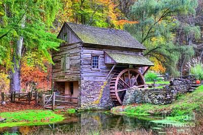 Photograph - Cuttalossa Saw Mill by DJ Florek