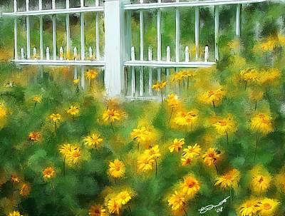 Painting - Cutting Gardens II by Eddie Durrett