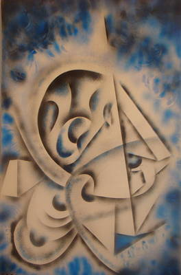 Cuttingedge  Art Print