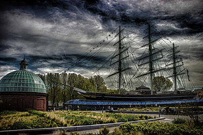 Cutty Sark Art Print by Martin Newman