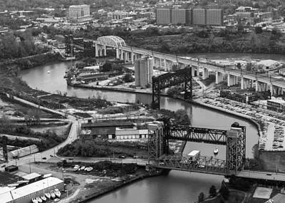 Photograph - Cuyahoga River by Stewart Helberg