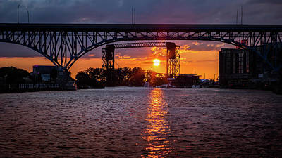 Photograph - Cuyahoga Sunset by Dale Kincaid